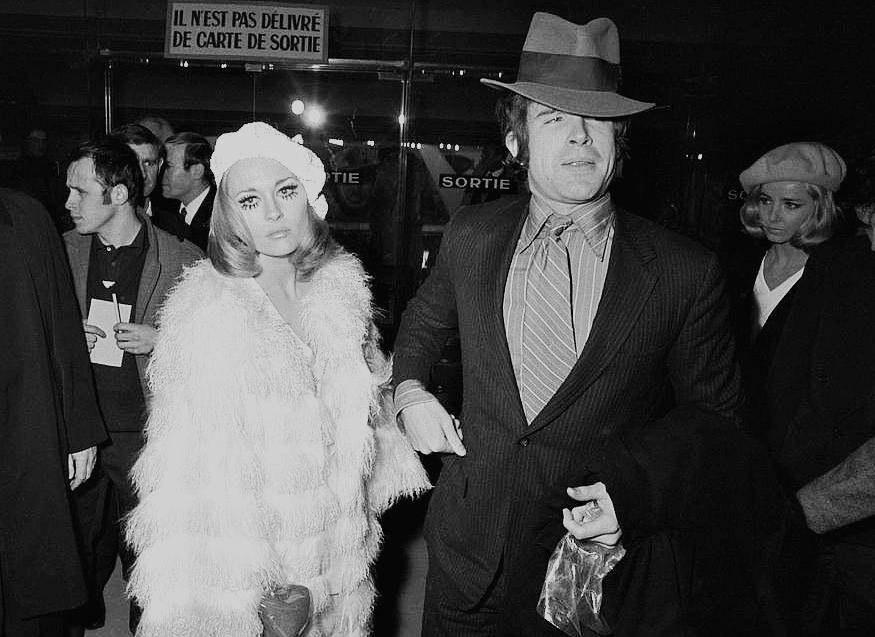 girl on film: Faye Dunaway e Warren Beatty...