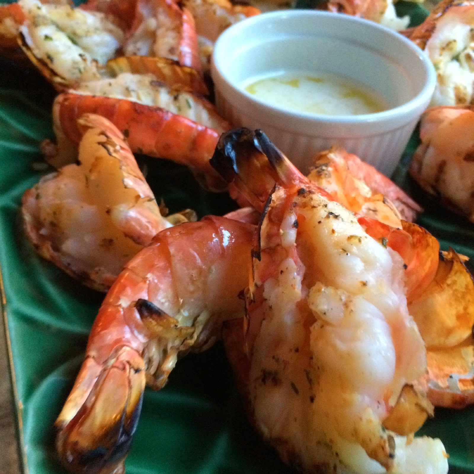 Food Impressions: Butterflied Grilled Shrimp With Garlic