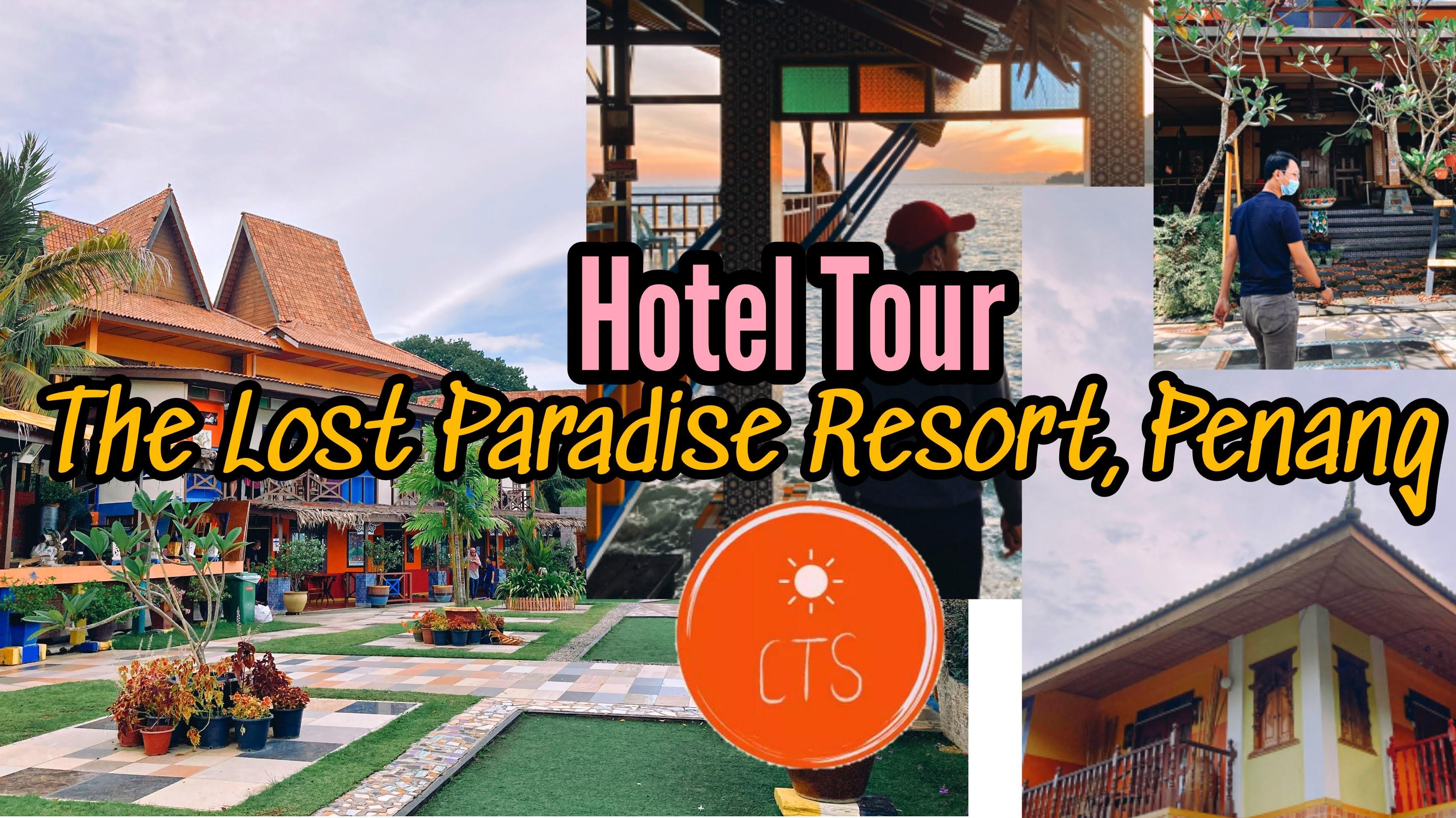 Hotel Tour #11 : The Lost Paradise Resort, Penang | Pengalaman Seperti Berada Di Bali | HanaKimi Anniversary Roadtrip 2020!