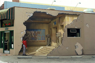 Karya Lukisan 3D Di Dinding