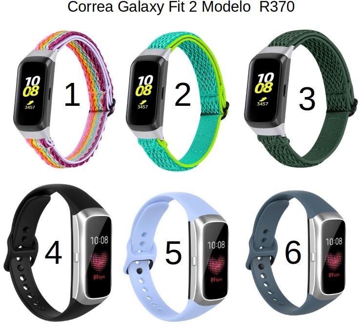 Correa para Samsung Galaxy Fit 2 Modelo R370