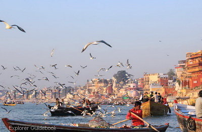Tempat wisata terkenal di India varanasi benares