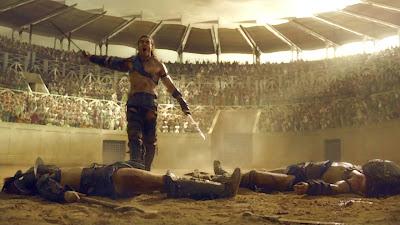 Spartacus Blood and Sand la inceputul lui 2012