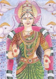 Prithvi - Yoga e Mitologia - la terra e il cinghiale