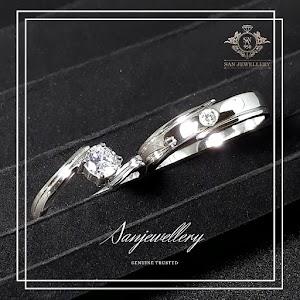 cincin kawin perak nikah couple 009