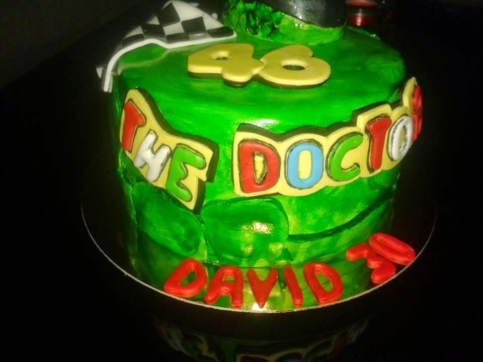 Tarta Valentino Rossi - El Doctor