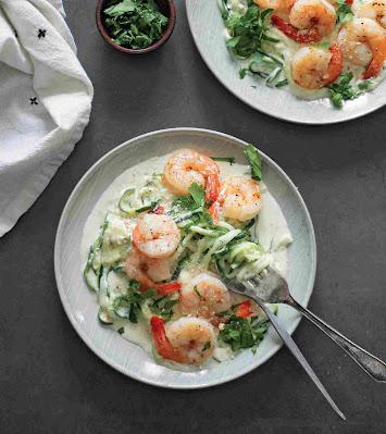 5-Ingredient Shrimp Alfredo Recipe