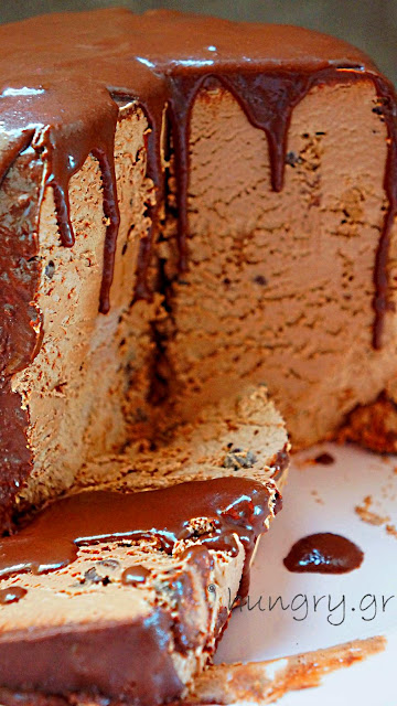 Chilled Chocolate Parfait Torte