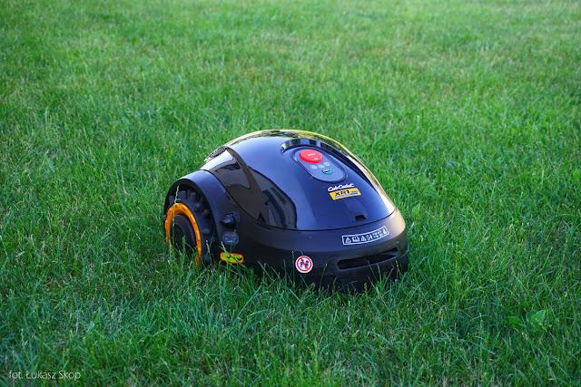 robot do trawnika