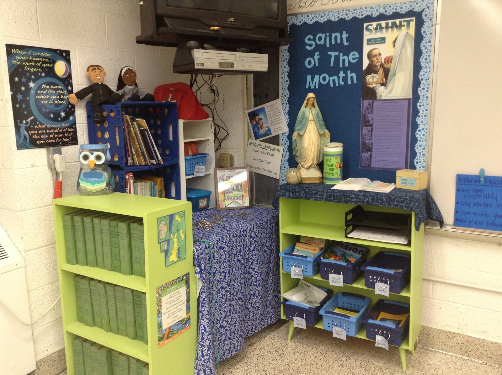 Look To Him And Be Radiant Creating A Faith Corner In Your Classroom