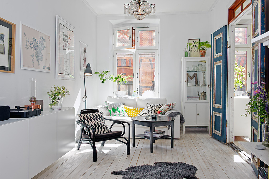 My Scandinavian Home Black White And A Splash Of Colour