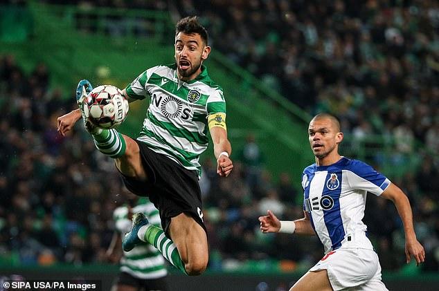Manchester United target Bruno Fernandes is undervalued at £55m says Sporting Lisbon boss