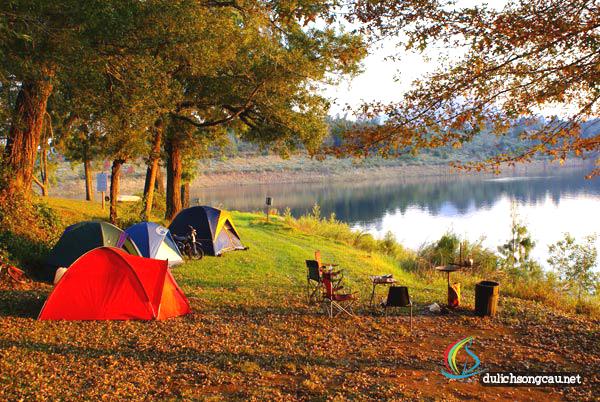 Cắm trại dã ngoại tại Sông Cầu Phú Yên