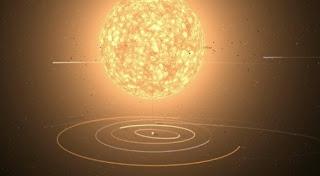 matahari diganti dengan UY Scuti