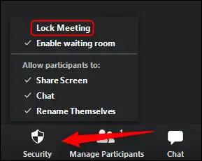قفل اجتماعك
