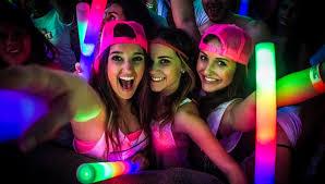 fiesta neon chiquiteca fiestas infantiles COTA precio tip decoracion