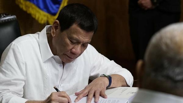 President Rodrigo Duterte signed into law Republic Act 11314