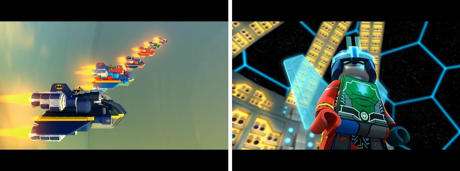 LEGO DC Justice League, LEGO DC animation, LEGO superheroes