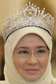 diamond state tiara pahang malaysia queen tengku ampuan afzan azizah