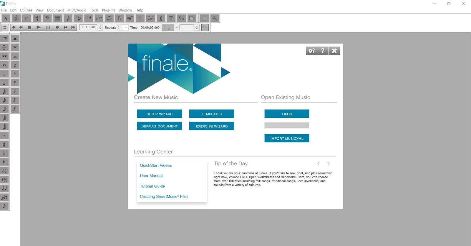 MakeMusic Finale 26.2.2.494