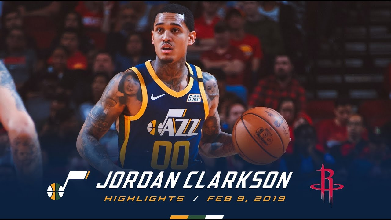 February 9, 2020(2/09/2020),Jordan Clarkson@HOU,30pts