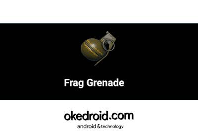 Fungsi dan Kegunaan Item Frag Grenade(Granat) di Game PUBG Mobile
