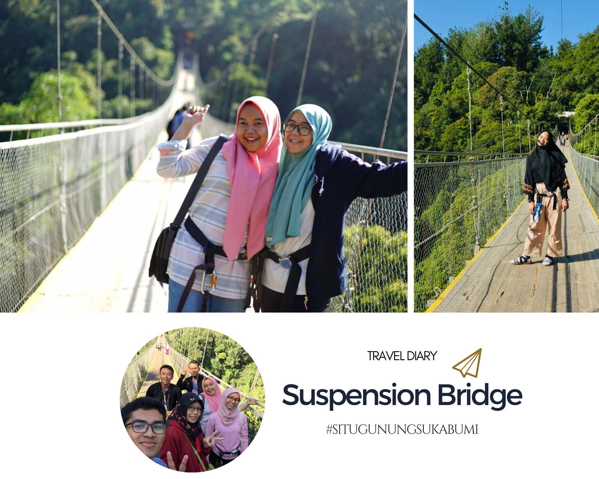 Jembatan Gantung Terpanjang di Asia