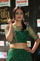 Nandita Swetha in a tight Green Choli Ghagra at IIFA Utsavam Awards March 2017 ~ 066.JPG