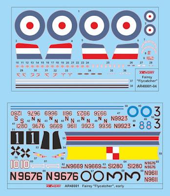 Fairey Flycatcher Decals picture 4