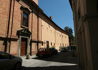 Città di Castello's Capuchin Monastery, where Veronica Giuliani was resident for 50 years, is in Via XI Settembre