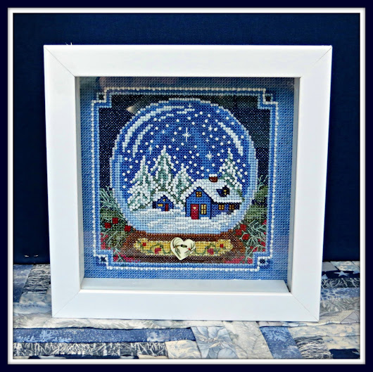 Linda's Review of Snow Globe Mill Hill Cross-stitch Kit #MH14-1734