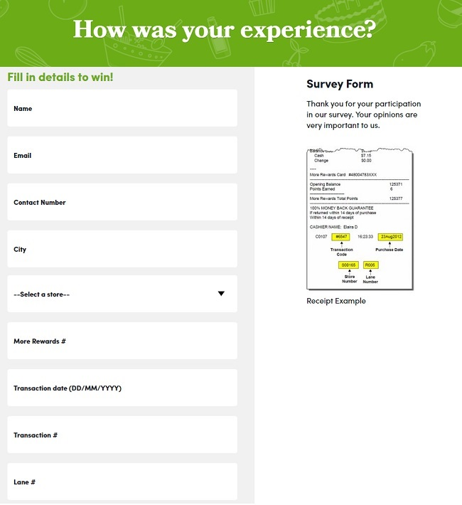Save on Foods Survey Contest