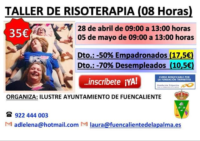 Taller de Risoterapia en Fuencaliente