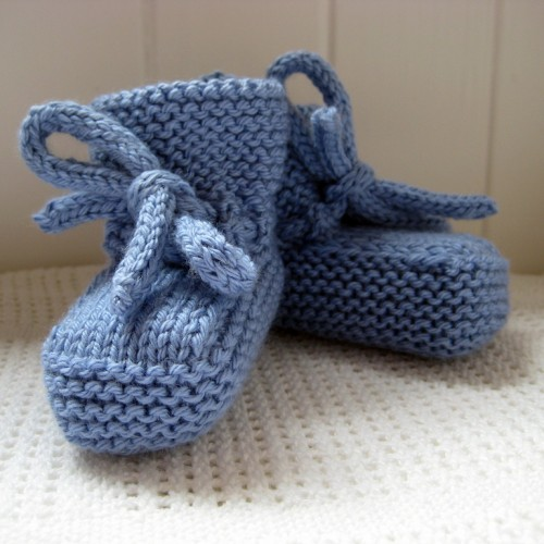 Suspension Bridge Bootees - Free Pattern