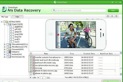 Tenorshare Any Data Recovery Pro 5.2.0.1 for PC Terbaru Update (Full Keygen)