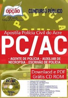 Apostila para o Concurso Público da Polícia Civil do ACRE/AC 2017
