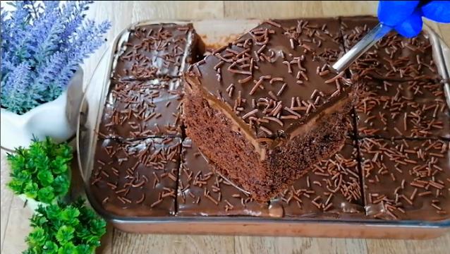 Amazing 3 layers chocolate cake