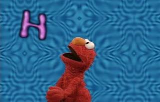 Elmo sings Elmo's Rap Alphabet. Sesame Street All Star Alphabet