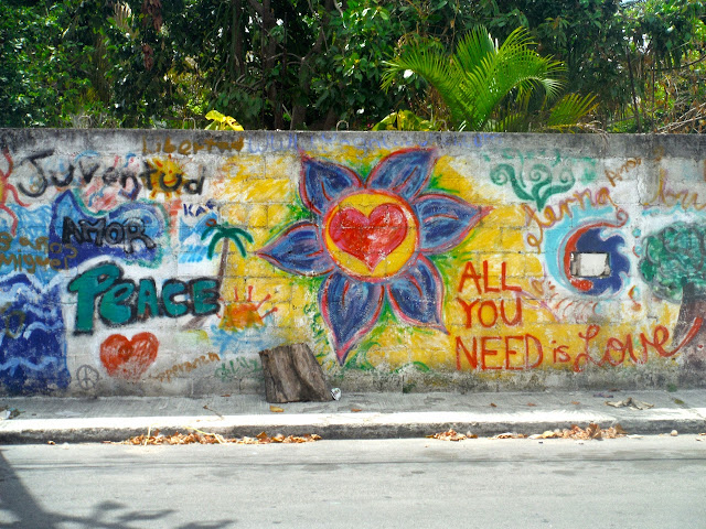Grafitti - Cozumel, Mexico