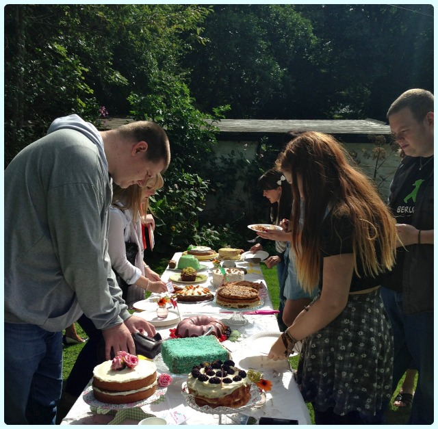 Clandestine Cake Club Bolton - England's Green and Pleasant Land