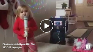 Video Lucu : Ulah Gadis Kecil Ini Akan Membuatmu Tertawa