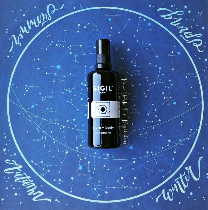 Sigil Scent Aura Room Spray Review at New York For Beginners