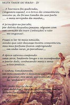 NESTA TARDE DE VERÃO - IV