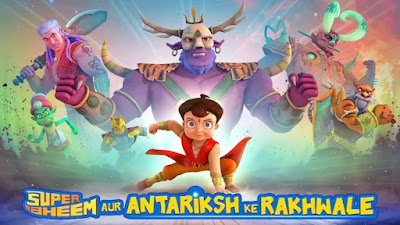 Watch Online Super Bheem - Antariksha Ke Rakhwale 2019 Full Movie Download HD Small Size 720P 700MB HEVC HDRip Via Resumable One Click Single Direct Links High Speed At WorldFree4u.Com