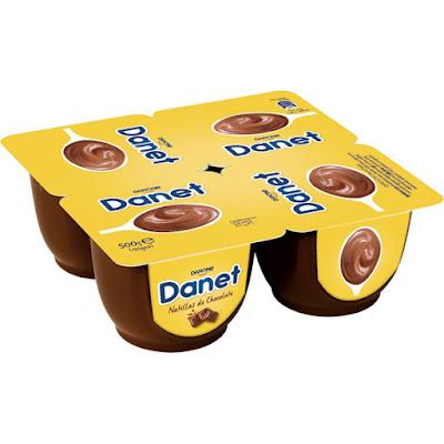 Natillas de chocolate Danet