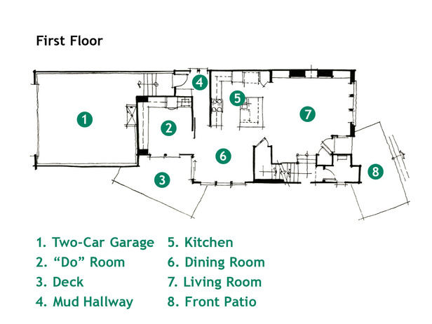 Modern Furniture Rendering and Floor Plan HGTV Green Home 2011 – Green House Designs Floor Plans