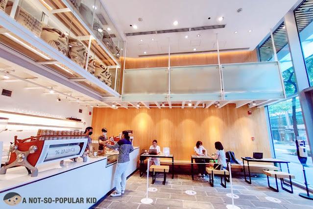 % Arabica Cafe in W City Center, BGC