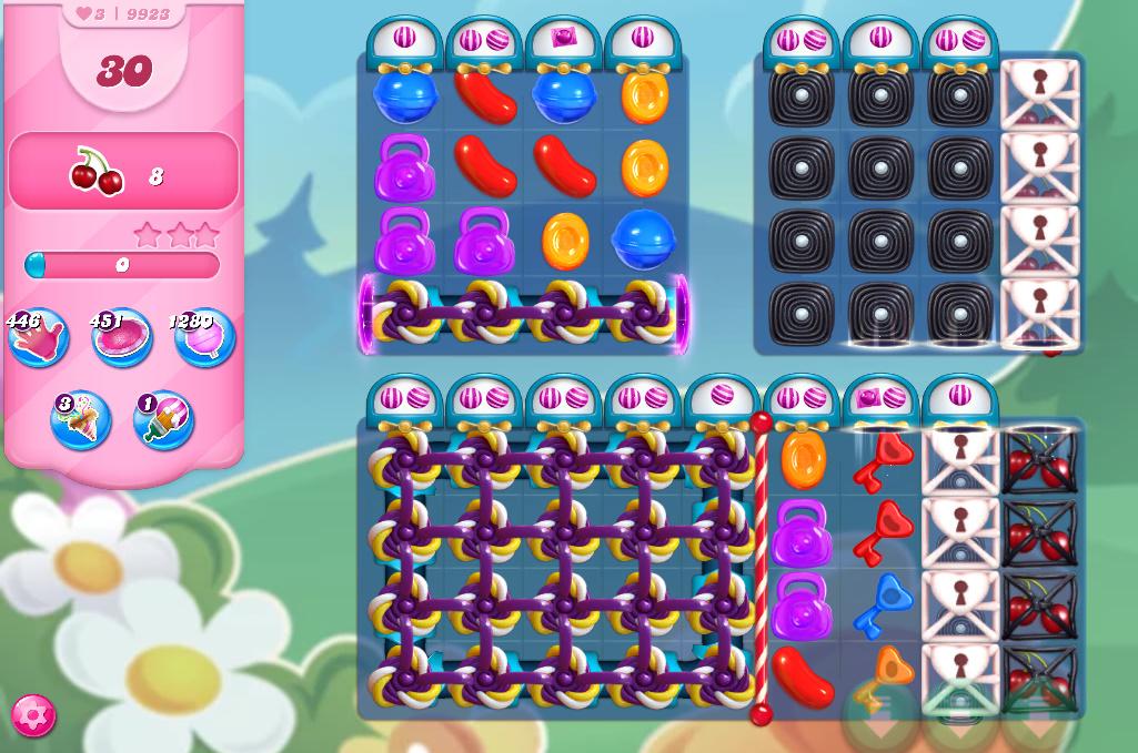 Candy Crush Saga level 9923