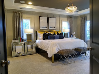 image of decorated bedroom