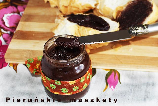 czekoladowo orzechowe smarowidło